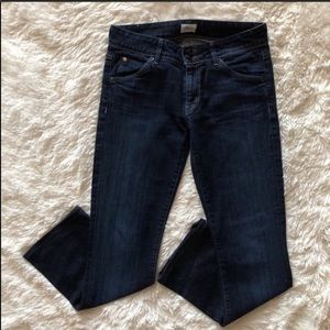 Hudson Beth Mid Rise Baby Boot Jeans